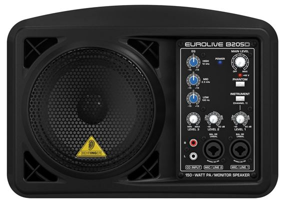 Behringer Eurolive B205D Powered PA Speaker