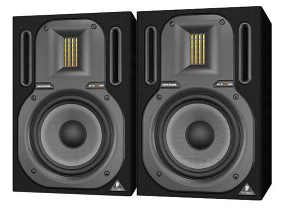 Behringer B3030A 2 Way Active Ribbon Studio Monitors