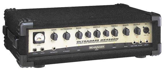 Behringer Ultrabass BX4500H Bass Guitar Amplifier Head