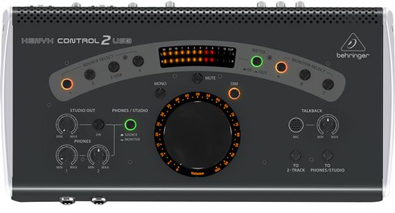 Behringer Control 2 USB Studio Control Communication Center