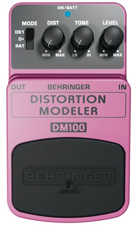 Behringer DM100 Distortion Modeler Pedal