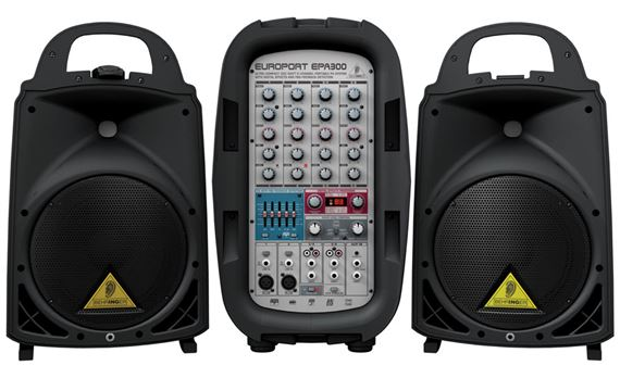 Behringer EPA300 Europort Portable PA System