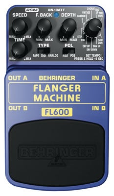 Behringer FL600 Ultimate Flanger Machine Pedal