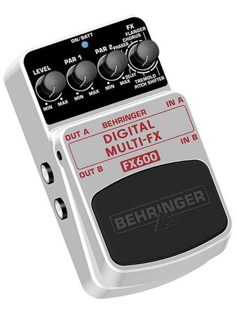 Behringer FX600 Digital Stereo Multieffects Pedal