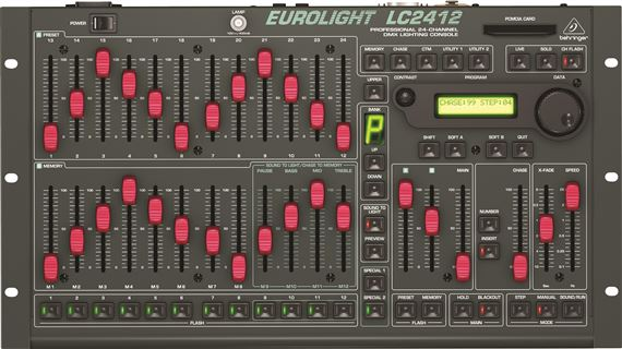 Behringer Eurolight LC2412 DMX Lighting Controller