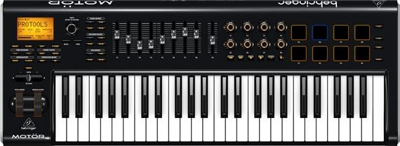 Behringer Motor 49 49-Key Controller Keyboard with Motorized Faders