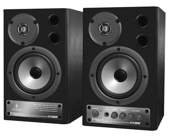 Behringer MS20 Powered Studio Monitors