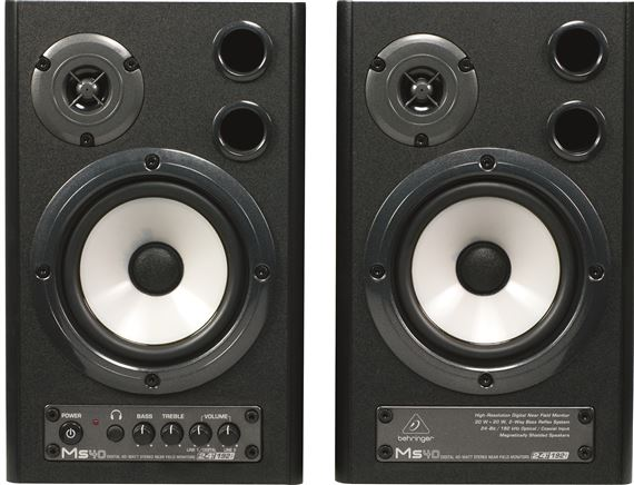 Behringer MS40 Powered Studio Monitors