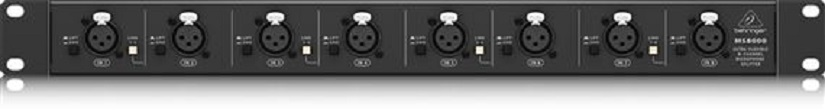 Behringer MS8000 Ultra Flexible 8 Channel Mic Splitter