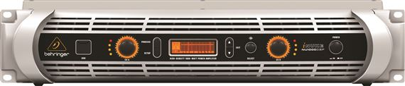 Behringer NU1000 iNuke Power Amplifier with DSP Control