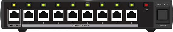 Behringer Powerplay P16-D Ultranet Distribution Hub