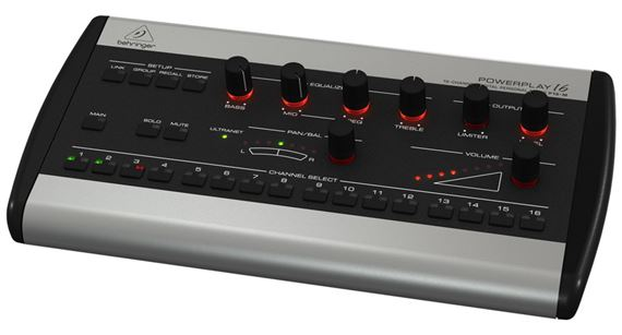 Behringer Powerplay P16-M 16 Channel Personal Mixer