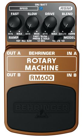 Behringer RM600 Rotary Machine Guitar Pedal