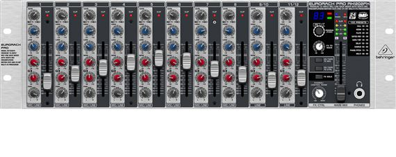 Behringer Eurorack RX1202FX Pro Stereo Line Mixer