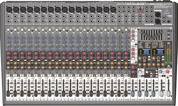 behringer sx2442fx eurodesk 24 channel 4 bus mixer. Black Bedroom Furniture Sets. Home Design Ideas