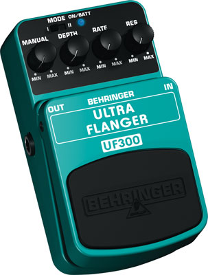 Behringer UF300 Ultra Flanger Guitar Effects Pedal