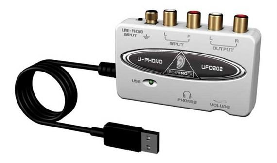 Behringer UFO202 U Phono USB Audio Interface