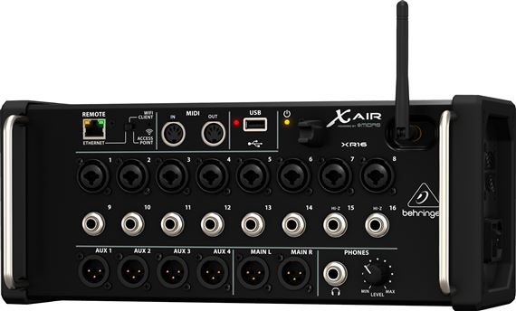 Behringer X AIR XR16 Digital Mixer for iPad/Android Tablets