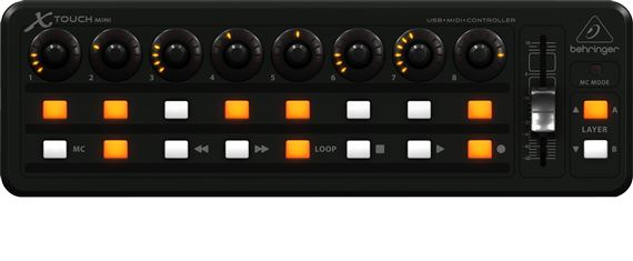 Behringer XTOUCH MINI Compact USB Controller