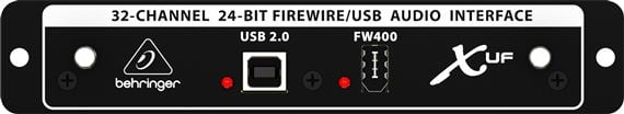 behringer x uf x32 usb firewire expansion card. Black Bedroom Furniture Sets. Home Design Ideas