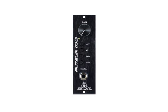 Black Lion Audio Auteur MKII 500 Series Microphone Preamp