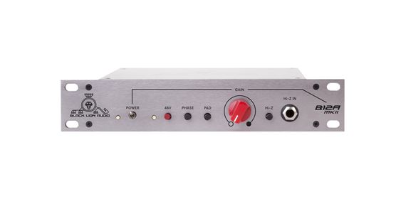 Black Lion Audio B12AMkII Single Channel API312a Style Mic Preamp