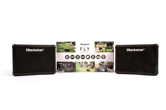 Blackstar Fly 3 Mini Amp with Extension Cab and Power Supply
