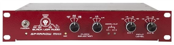 Black Lion Audio Red Sparrow mkII ADC A/D Analog To Digital Converter