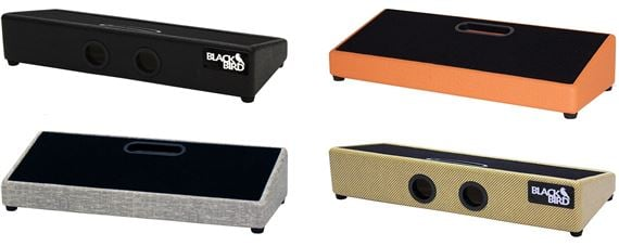 Blackbird Pedalboards Feather Board Tolex with Gig Bag