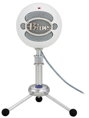Blue Microphones Snowball Cardioid Or Omni Condenser USB Microphone