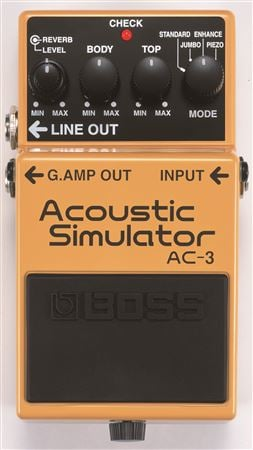 Boss AC3 Acoustic Guitar Simulator Pedal
