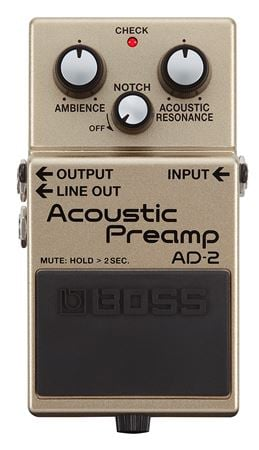 Boss AD-2 Acoustic Preamp Effect Pedal