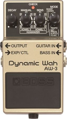 Boss AW3 Dynamic Wah Pedal with Humanizer