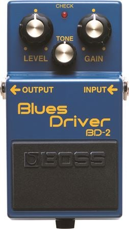 Boss BD2 Blues Driver Overdrive Distortion Pedal