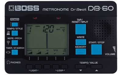 Boss DB60 Dr Beat Digital Metronome