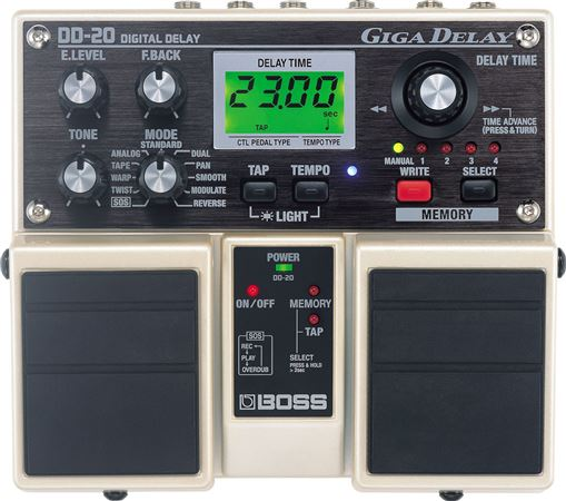 Boss DD20 Giga Delay Twin Pedal