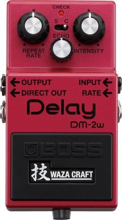 Boss DM2W Delay Waza Craft Pedal
