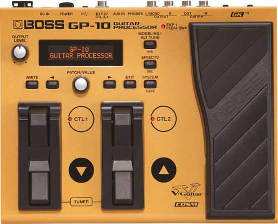 Boss GP10 Guitar Multieffects Processor