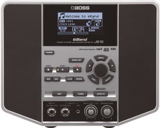 Boss eBand JS10 Guitar Trainer Audio Player with Effects