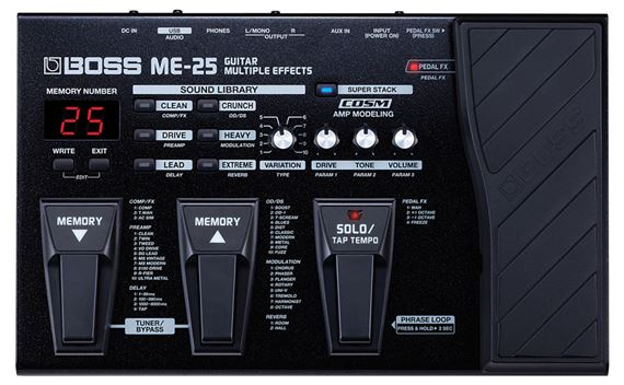 Boss ME25 Guitar Multieffects Pedal
