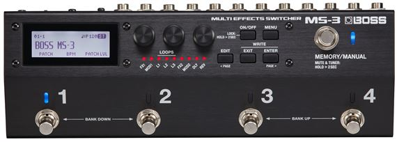 Boss MS3 Multi Effects Switcher