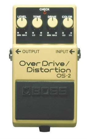 Boss OS2 Overdrive and Distortion Pedal