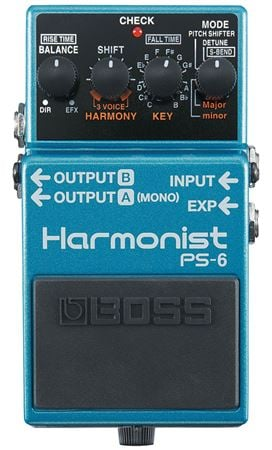 Boss PS6 Harmonist Pitch Shift Harmonizer Effects Pedal