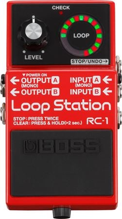 Boss RC1 Loop Station Guitar Pedal