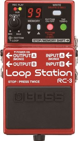 Boss RC3 Loop Station Pedal With USB