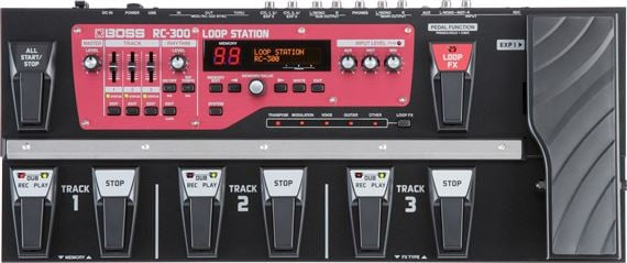 Boss RC300 Loop Station Guitar Pedal