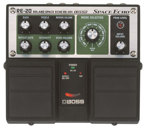Boss RE20 Space Echo Delay Twin Pedal