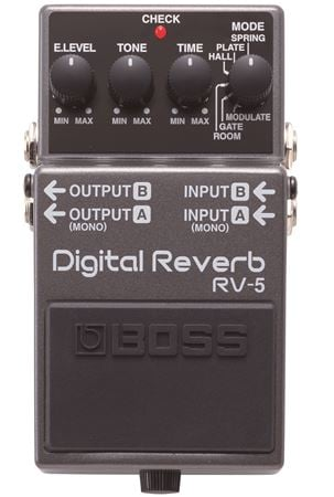 Boss RV5 Digital Reverb Guitar Effects Pedal