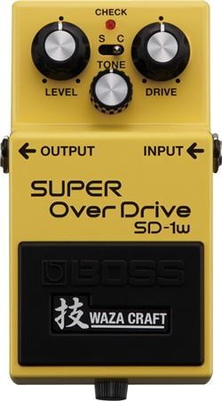 Boss SD1W Super OverDrive Waza Craft Pedal