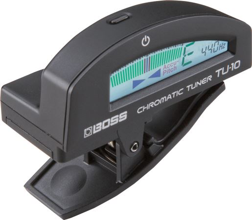 Boss TU10 Clip On Chromatic Guitar Tuner